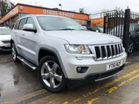 USED 2011 61 JEEP GRAND CHEROKEE 3.0 V6 CRD LIMITED 5d AUTO 237 BHP