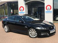 USED 2013 13 JAGUAR XF 2.2 D SPORT 4d 200 BHP SAT NAV | PART LEATHER | AC |