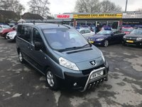 2009 PEUGEOT EXPERT 1.6 TEPEE COMFORT L1 HDI 6STR 5d 89 BHP 3 SEATER MOTABILITY ACCESS WITH RAMP £4999.00