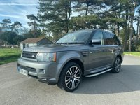 USED 2009 59 LAND ROVER RANGE ROVER SPORT 3.0 TDV6 HSE 5d AUTO 245 BHP NICE CONDITION NEWER SHAPE RANGE ROVER SPORT IN GREY TAKEN IN P/X BY US DRIVES SPOT ON AND WELL LOOKED AFTER