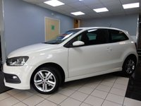 USED 2014 63 VOLKSWAGEN POLO 1.2 R LINE TSI 3d 104 BHP