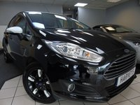 USED 2016 16 FORD FIESTA 1.0 ZETEC BLACK EDITION AUTUMN 5d 99 BHP