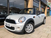 2015 MINI CONVERTIBLE 1.6 ONE 2d AUTO 98 BHP £10000.00