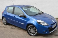 2011 RENAULT CLIO 1.2 DYNAMIQUE TOMTOM 16V 5d 75 BHP PETROL CHEAP TAX LOW MILEAGE £3781.00