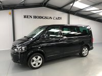 USED 2012 12 VOLKSWAGEN CARAVELLE 2.0 SE TDI 5d 140 BHP 1 Previous Owner With FSH!