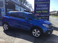 USED 2016 16 VAUXHALL MOKKA 1.6 SE CDTI ECOFLEX S/S 5d 134 BHP, ONLY 13000 MILES ***GREAT FINANCE DEALS AVAILABLE***