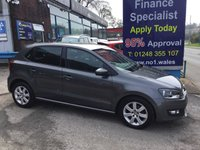 2013 VOLKSWAGEN POLO 1.4 MATCH EDITION 5d 83 BHP, ONLY 32000 MILES £6995.00
