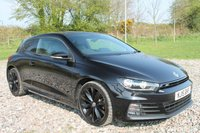 USED 2015 15 VOLKSWAGEN SCIROCCO 2.0 R LINE TDI BLUEMOTION TECHNOLOGY 2d 182 BHP COUPE