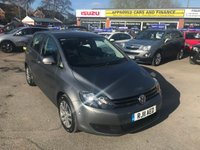 2011 VOLKSWAGEN GOLF PLUS 1.6 BLUEMOTION SE TDI 5d 103 BHP IN GREY WITH 88000 MILES IN IMMACULATE CONDITION. £4999.00