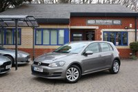 USED 2014 14 VOLKSWAGEN GOLF 1.6 SE TDI BLUEMOTION TECHNOLOGY DSG 5d AUTO 103 BHP Full VW Service History!