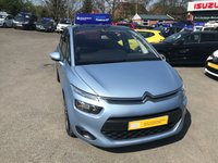 2014 CITROEN C4 PICASSO 1.6 E-HDI AIRDREAM EXCLUSIVE ETG6 5d AUTO 113 BHP IN BLUE 57K MILES FULL SERVICE HISTORY IMMACULATE CONDITION £7499.00