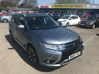 2015 MITSUBISHI OUTLANDER 2.0 PHEV GX 4H 5d AUTO 161 BHP IN METALLIC GREY WITH ONLY 50000 MILES AND A FULL SERVICE HISTORY £17499.00