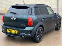 USED 2010 60 MINI COUNTRYMAN 1.6 COOPER S ALL4 5d AUTO 184 BHP 2 PREVIOUS KEEPER *  FULL SERVICE RECORD *   PAN ROOF *  PRIVACY GLASS *  CLIMATE CONTROL *  PARKING AID *