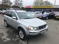 2008 VOLVO XC90 2.4 D5 SE LUX AWD 5d AUTO 185 BHP IN SILVER 97K MILES FULL SERVICE HISTORY GREAT CONDITION £6999.00