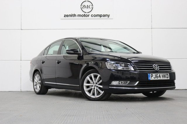 2014 64 VOLKSWAGEN PASSAT 1.6 EXECUTIVE TDI BLUEMOTION TECHNOLOGY 4d 104 BHP