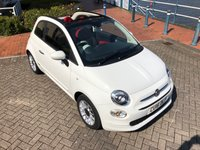 USED 2016 16 FIAT 500 1.2 C POP STAR 3d 69 BHP 1 LADY OWNER! FACELIFT MODEL!