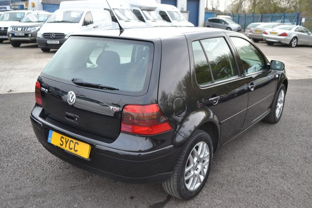 USED 2003 03 VOLKSWAGEN GOLF 1.9 GT TDI 5d 130 BHP FULL SERVICE HISTORY WITH TWO CAM BELT CHANGES & RECENT DUEL MASS REPLACMENT-2 KEYS
