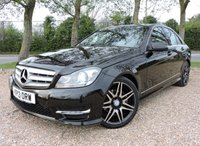 USED 2013 13 MERCEDES-BENZ C CLASS 2.1 C250 CDI BLUEEFFICIENCY AMG SPORT PLUS 4d AUTO 202 BHP SAT NAV/ HEATED SEATS/ BLUETOOTH/ CRUISE CONTROL/ PARKING SENSORS/ with 1 year new MOT, Service History, New Service @98k mileage, Road Tax £145,- annual, 2 Keys, Warranty, HPI Cleared