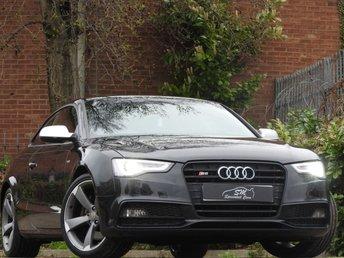 2012 AUDI A5 3.0 S5 TFSI QUATTRO BLACK EDITION 2d AUTO 329 BHP £16975.00