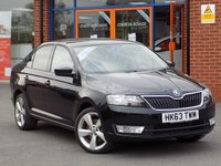 USED 2014 63 SKODA RAPID 1.6 TDI CR GreenTech Elegance 5dr ** Bluetooth + Upgrade Alloys **