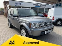 USED 2013 LAND ROVER DISCOVERY 3.0 4 SDV6 GS 5d AUTO 255 BHP Low Mileage Service History 7 Seat Alloy Wheels Bluetooth Connectivity Phone Media  Land Rover Discovery 4 3.0 SDV6 GS 5dr Auto 7 Seat Alloy Wheels Power steering Push Button Start Bluetooth Connectivity Phone 12 Months FREE AA Breakdown Cover
