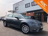 USED 2014 14 SEAT LEON 1.6 TDI SE TECHNOLOGY 5d 105 BHP SAT NAV | BLUETOOTH | DAB | ALLOY WHEELS | START/STOP | CLIMATE CONTROL | CRUISE CONTROL