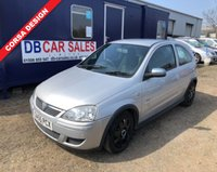 USED 2006 55 VAUXHALL CORSA 1.2 DESIGN 16V TWINPORT 3d 80 BHP 0 DEPOSIT!! DRIVE AWAY TODAY