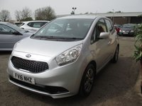 USED 2016 16 KIA VENGA 1.4 2 ISG 5d 89 BHP ONLY 17,029 MILES FROM NEW