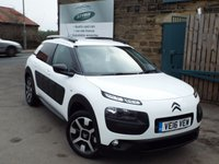 USED 2016 16 CITROEN C4 CACTUS 1.2 PURETECH FLAIR 5d 80 BHP One Owner With =+++++SAT NAV ++++REAR CAMERA+++BLUETOOTH>>>>