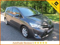 USED 2016 65 TOYOTA VERSO 1.6 VALVEMATIC ICON 5d 131 BHP Fantastic Value One Lady Owned  Toyota Verso with Seven Seats, Air Conditioning, Alloy Wheels and Toyota Service History. This Vehicle is ULEZ Compliant with a EURO 6 Rated Engine