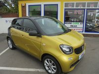 USED 2017 17 SMART FORFOUR 1.0 PASSION 5d 71 BHP **NO DEPOSIT DEALS..**JUST ARRIVED...**ONLY 8,000 MILES FROM NEW**