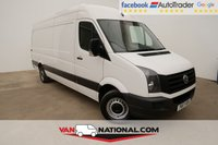 2017 VOLKSWAGEN CRAFTER 2.0 CR35 TDI P/V LWB BMT 140 BHP (EURO SIX ONE OWNER) £15790.00