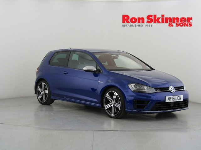 View our 2016 16 VOLKSWAGEN GOLF 2.0 R 3d 298 BHP