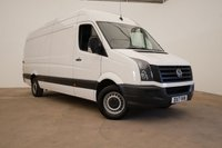2017 VOLKSWAGEN CRAFTER 2.0 CR35 TDI P/V LWB HIGH ROOF 140BHP (EURO 6) £15990.00