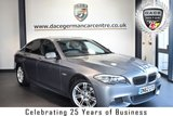 USED 2012 62 BMW 5 SERIES 2.0 520D M SPORT 4DR AUTO 181 BHP *NO ADMIN FEES* FINISHED IN STUNNING SPACE METALLIC GREY WITH FULL BLACK LEATHER INTERIOR + BLUETOOTH + CRUISE CONTROL + M SPORT PACKAGE + HEATED SPORT SEATS + PARKING SENSORS + AUTO STOP/START + DAYTIME RUNNING LIGHTS + DUAL CLIMATE CONTROL + 18 INCH ALLOY WHEELS