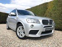 2011 BMW X3 2.0 XDRIVE20D M SPORT 5d 181 BHP £11995.00