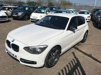 2013 BMW 1 SERIES 1.6 116I SPORT 5d 135 BHP £9499.00