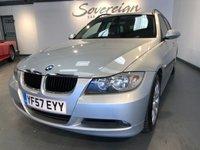 2007 BMW 3 SERIES 2.0 318D SE TOURING 5d 141 BHP £3895.00