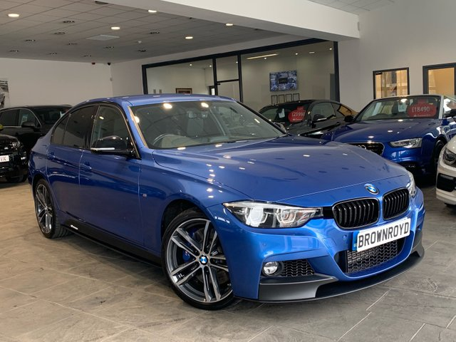 USED 2017 67 BMW 3 SERIES 3.0 335D XDRIVE M SPORT SHADOW EDITION 4d AUTO 308 BHP M PERFORMANCE STYLING+PRO NAV