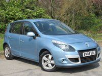 USED 2009 09 RENAULT SCENIC 1.4 TOMTOM EDITION TCE 5d 129 BHP SATELLITE NAVIGATION, ALLOY WHEELS