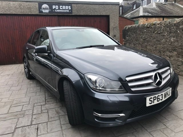 2013 63 MERCEDES-BENZ C CLASS 2.1 C220 CDI BLUEEFFICIENCY AMG SPORT PLUS 4d AUTO 168 BHP