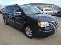 2008 CHRYSLER GRAND VOYAGER 2.8 CRD LIMITED 5d AUTO 161 BHP MOT SERVICE WARRANTY £5995.00