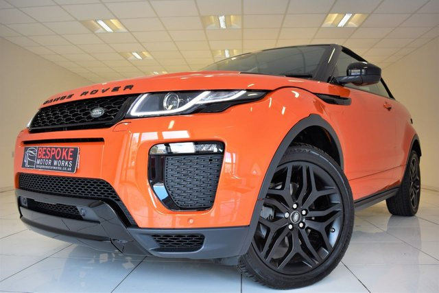 2017 17 LAND ROVER RANGE ROVER EVOQUE 2.0 TD4 HSE DYNAMIC AUTOMATIC