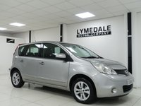 USED 2010 60 NISSAN NOTE 1.4 ACENTA 5d 88 BHP