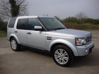 USED 2010 10 LAND ROVER DISCOVERY 4 3.0 4 TDV6 HSE 5d AUTO 245 BHP Discovery 4, 3.0 HSE Auto in Zermatt Silver