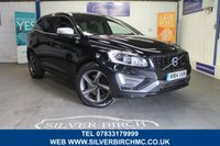 USED 2014 14 VOLVO XC60 2.4 D5 R-DESIGN LUX NAV AWD 5d AUTO 212 BHP Low Deposit Finance Available
