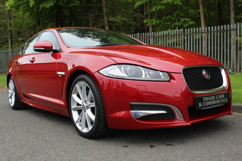 USED 2014 63 JAGUAR XF 2.2 D R-SPORT 4d AUTO 200 BHP A STUNNING LOW OWNER CAR WITH A GOOD SPEC AND FULL HISTORY!!!