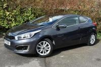 USED 2017 17 KIA CEED  1.0 T-GDi 2 Hatchback 3dr Petrol Manual (s/s) ISG (113 g/km, 99 bhp) STUNNING VALUE GREAT LOOKS
