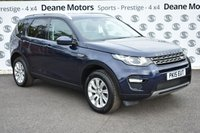 USED 2015 15 LAND ROVER DISCOVERY SPORT 2.2 SD4 SE TECH 5d AUTO 190 BHP PANORAMIC ROOF