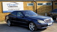 2001 MERCEDES-BENZ S CLASS 5.4 S55 AMG 4d 360 BHP £6984.00